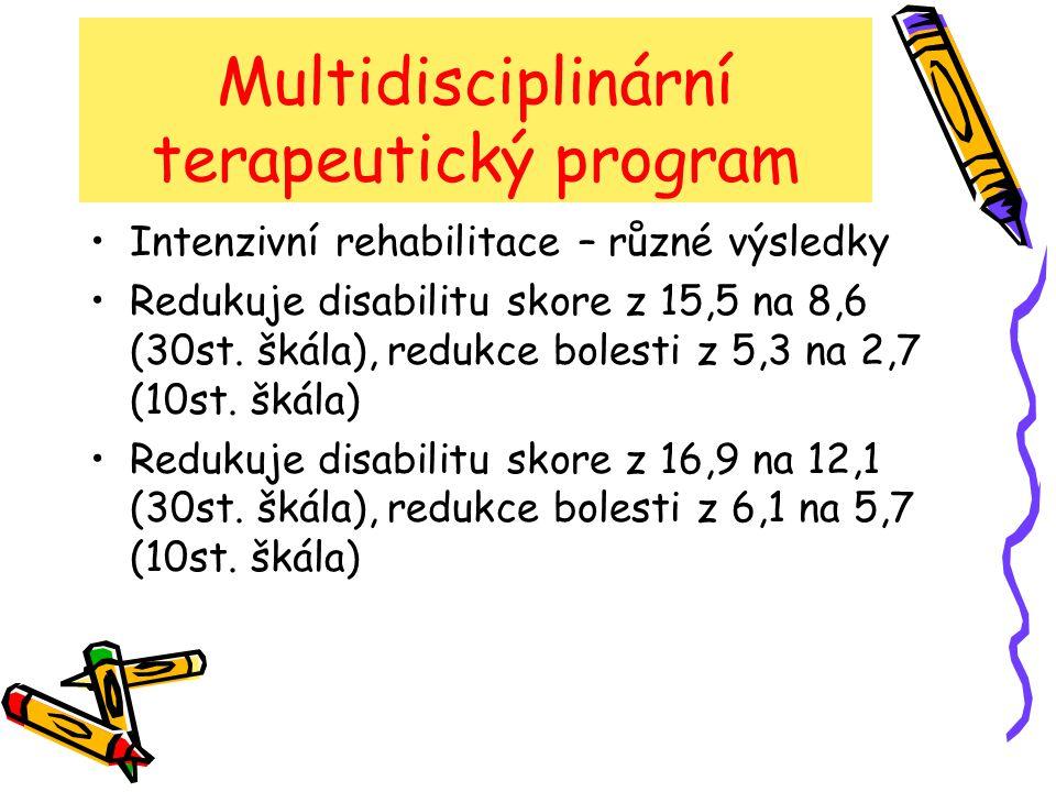 Multidisciplinární terapeutický program