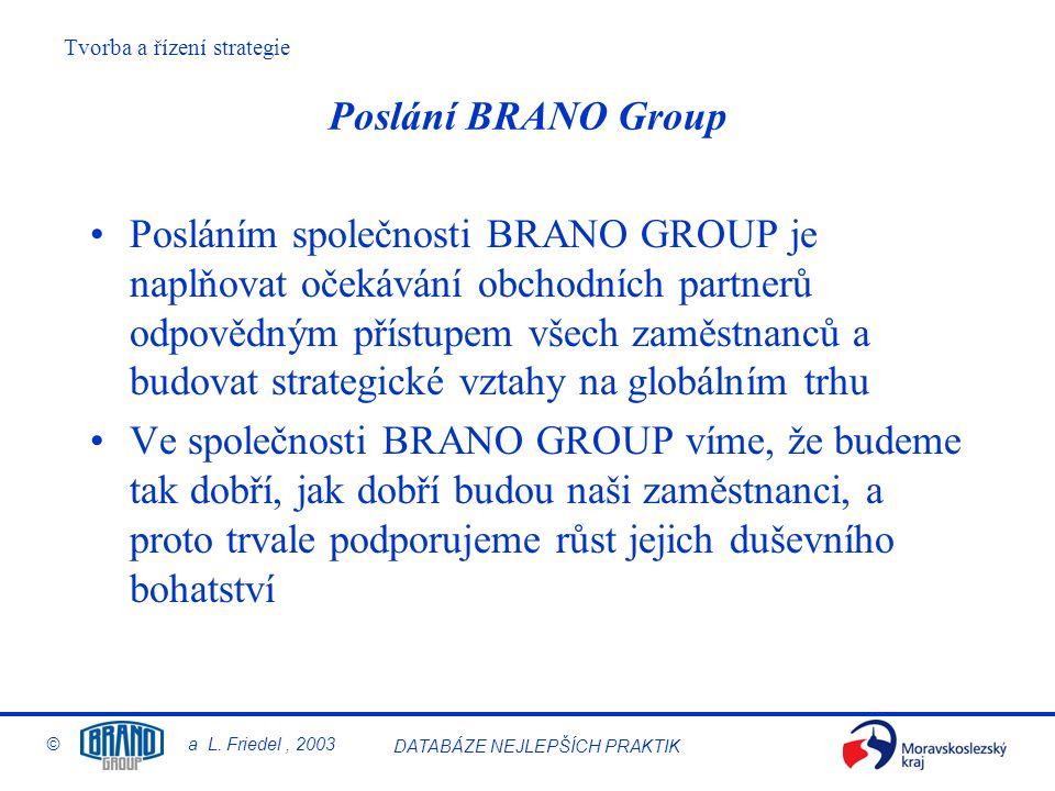 Poslání BRANO Group