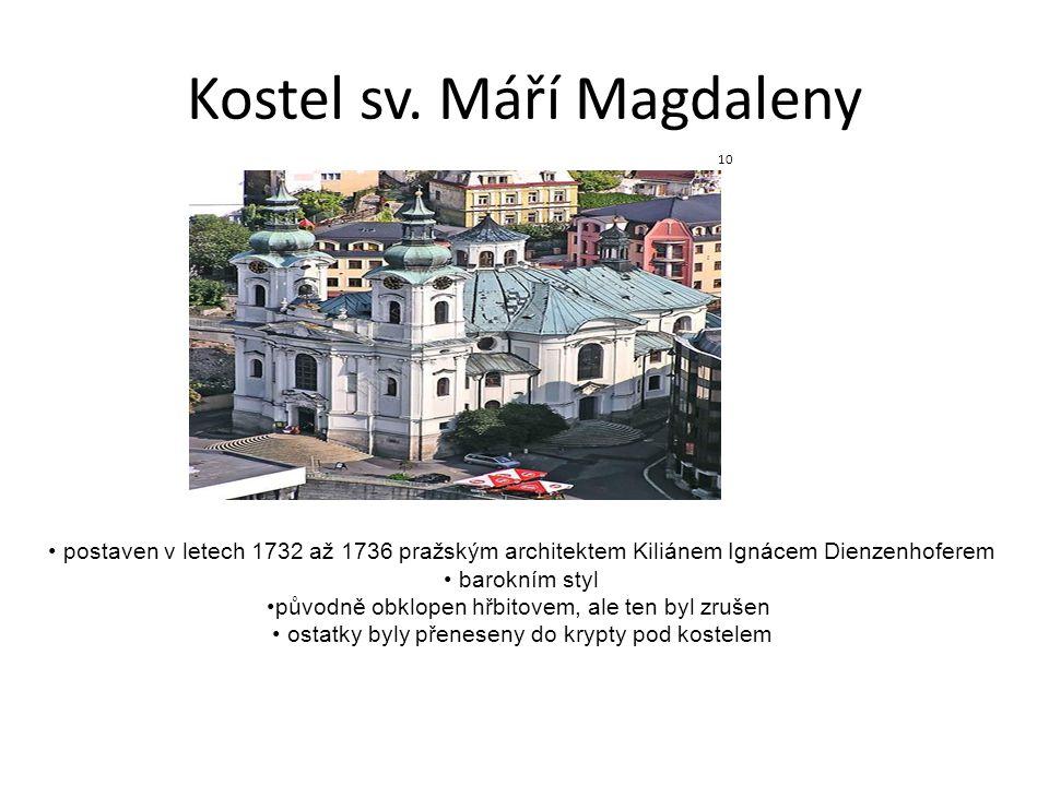 Kostel sv. Máří Magdaleny