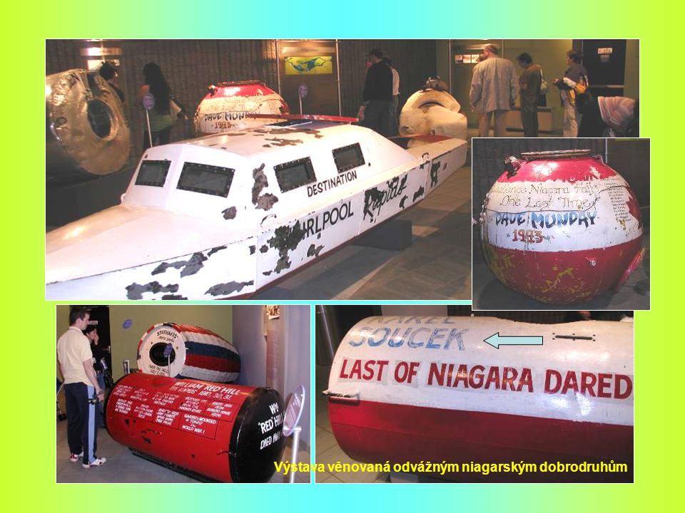 Výstava věnovaná odvážným niagarským dobrodruhům