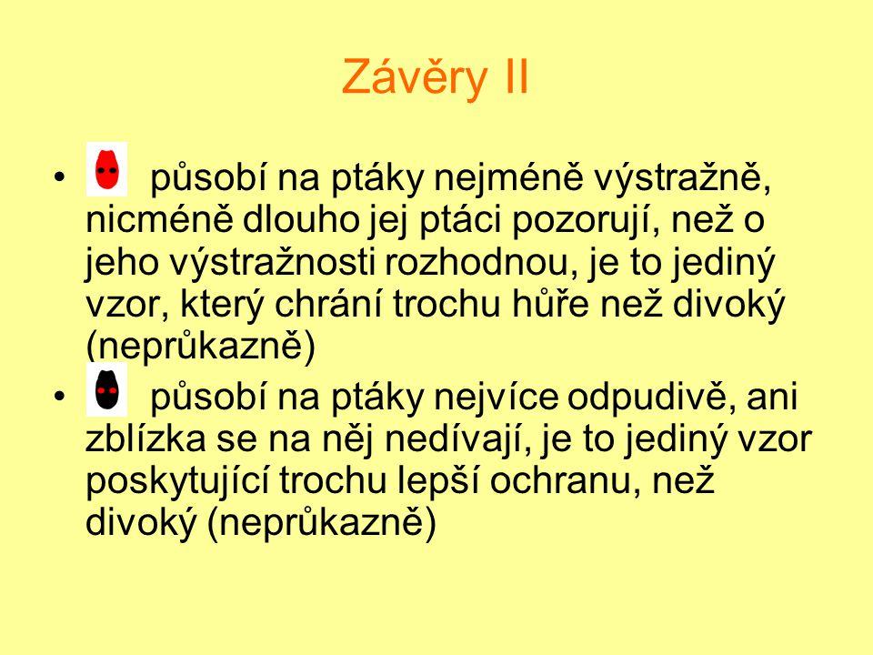 Závěry II