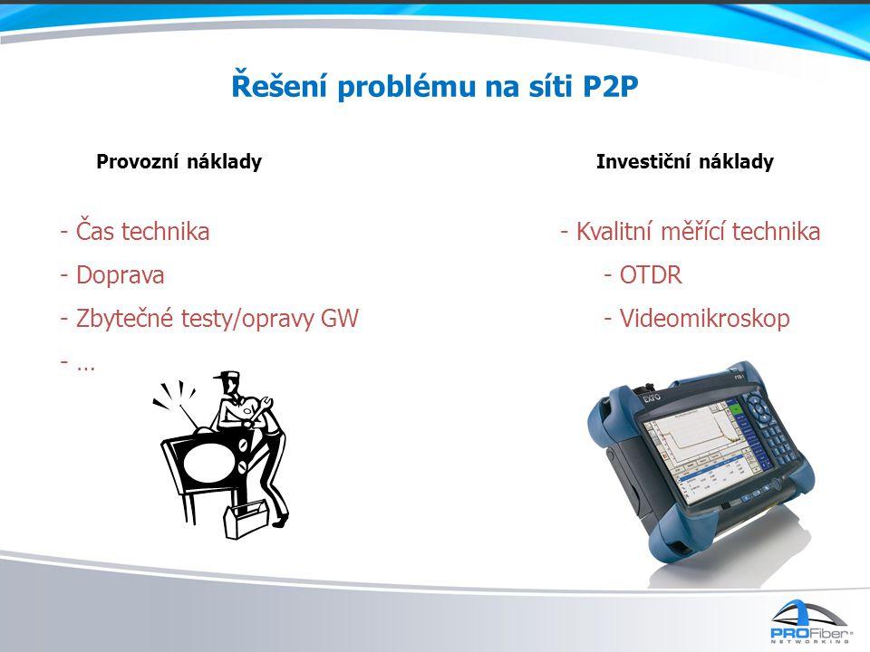 Řešení problému na síti P2P