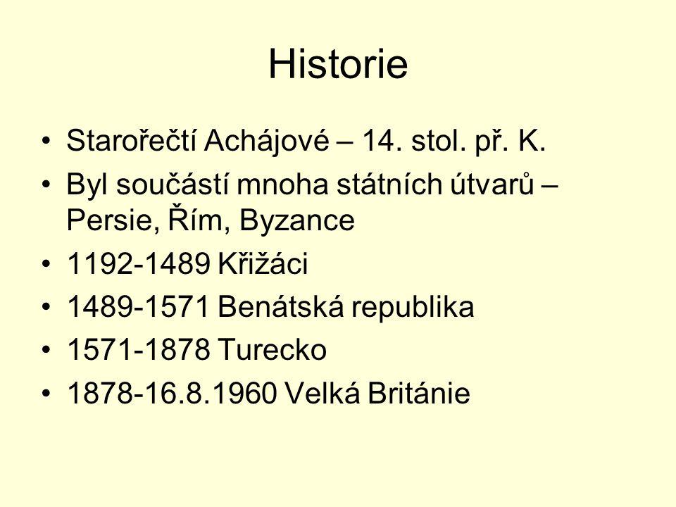 Historie Starořečtí Achájové – 14. stol. př. K.