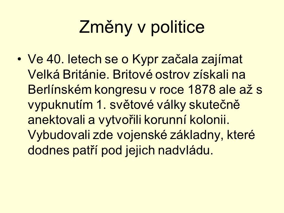 Změny v politice