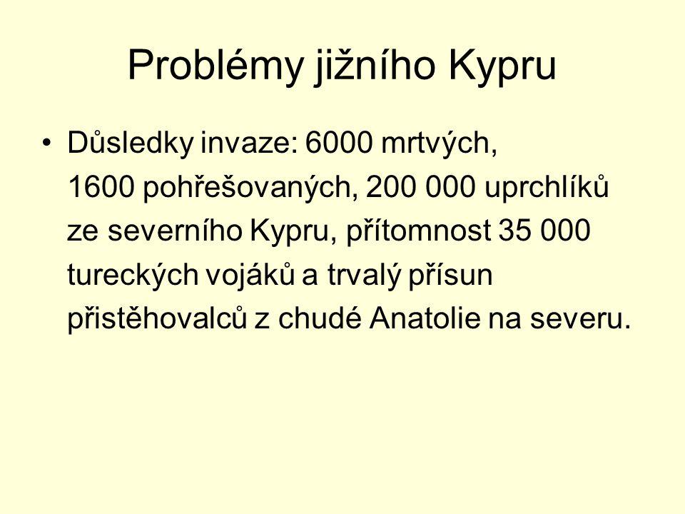 Problémy jižního Kypru
