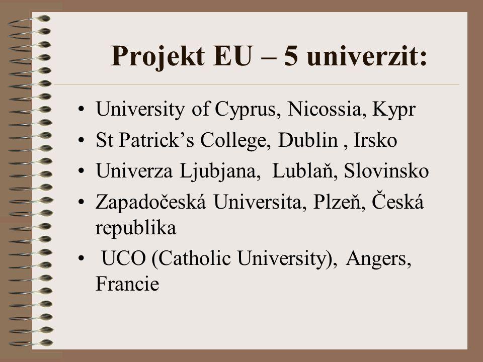 Projekt EU – 5 univerzit: