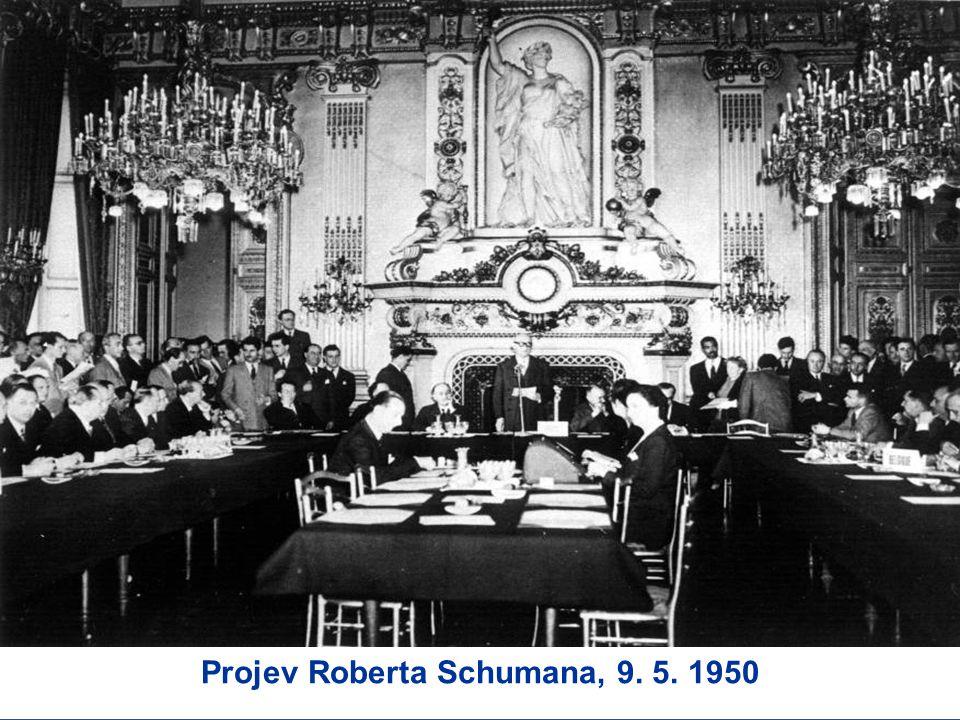 Projev Roberta Schumana, 9. 5. 1950