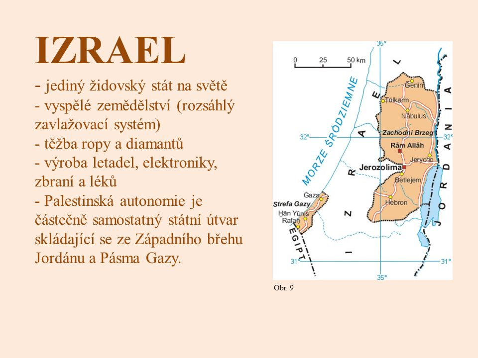 IZRAEL jediný židovský stát na světě