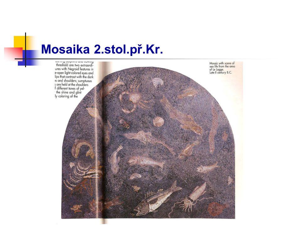 Mosaika 2.stol.př.Kr.
