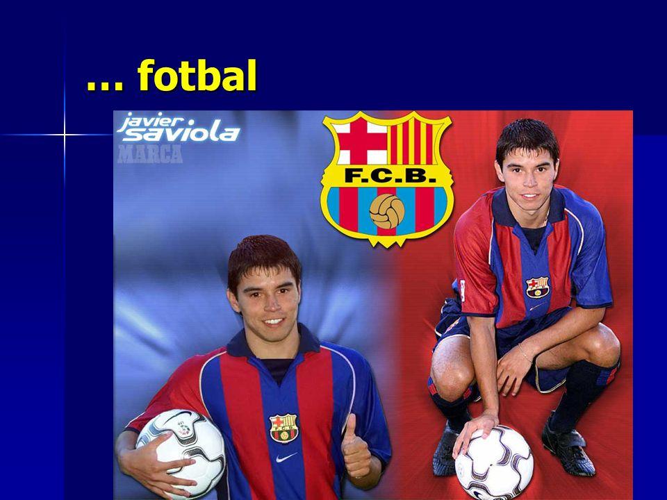 … fotbal