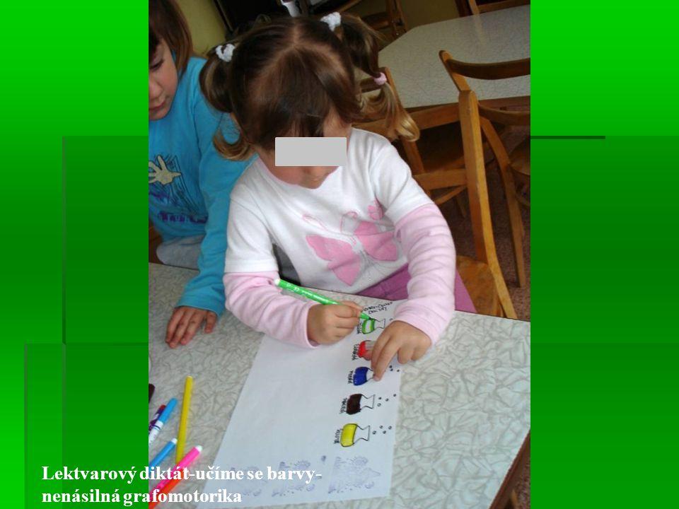 Lektvarový diktát-učíme se barvy-nenásilná grafomotorika