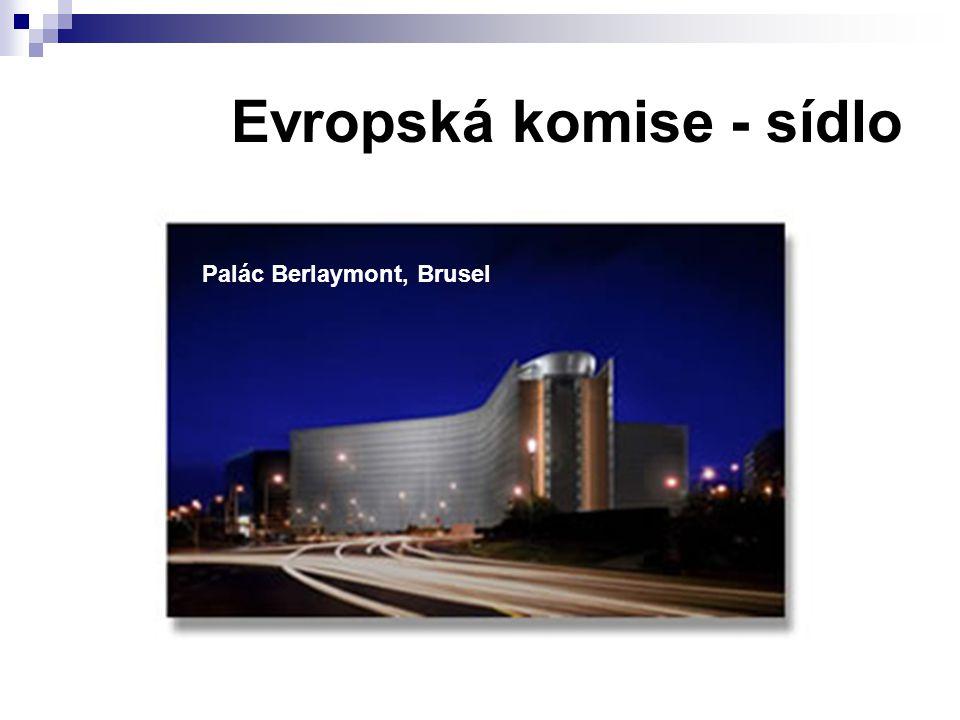 Evropská komise - sídlo