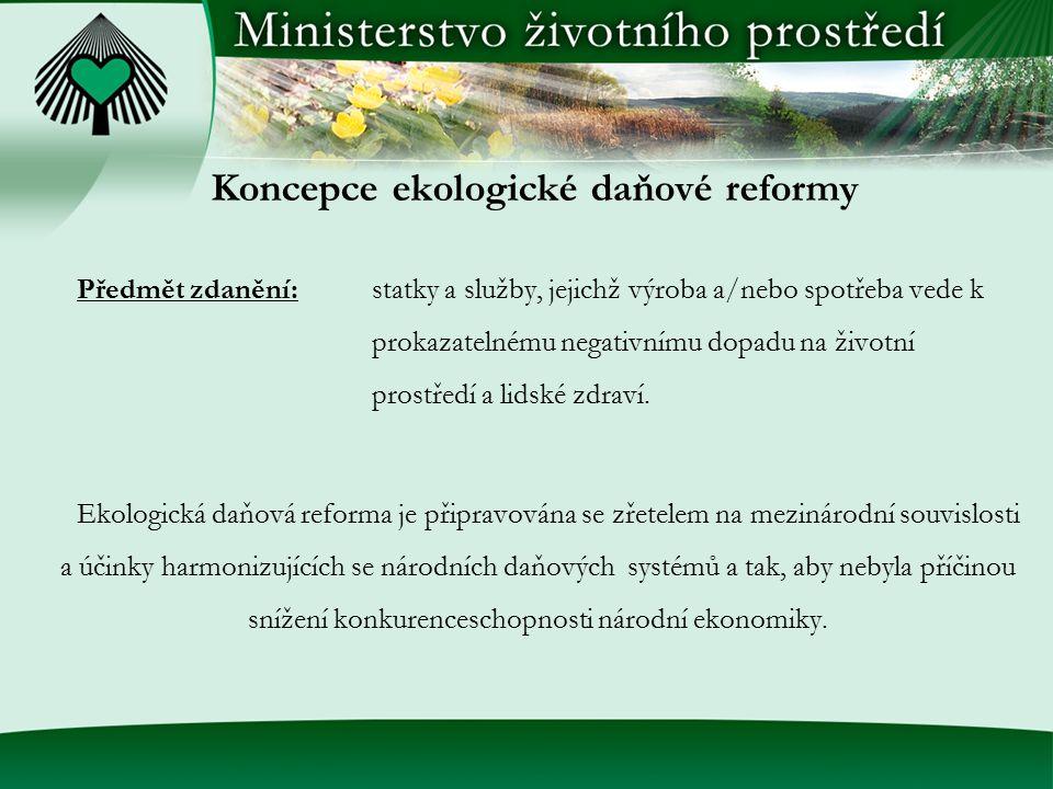 Koncepce ekologické daňové reformy