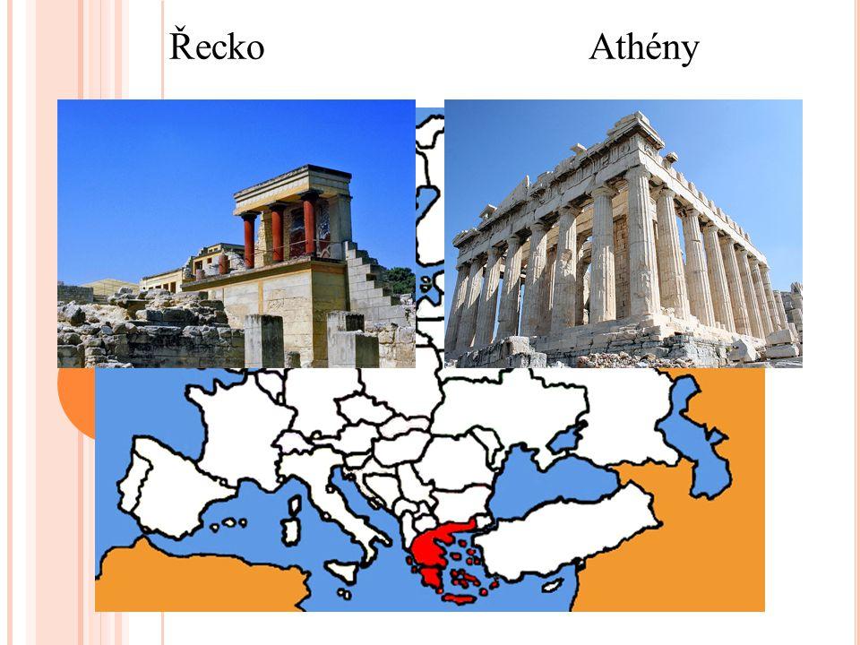 Řecko Athény