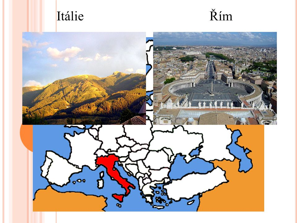 Itálie Řím
