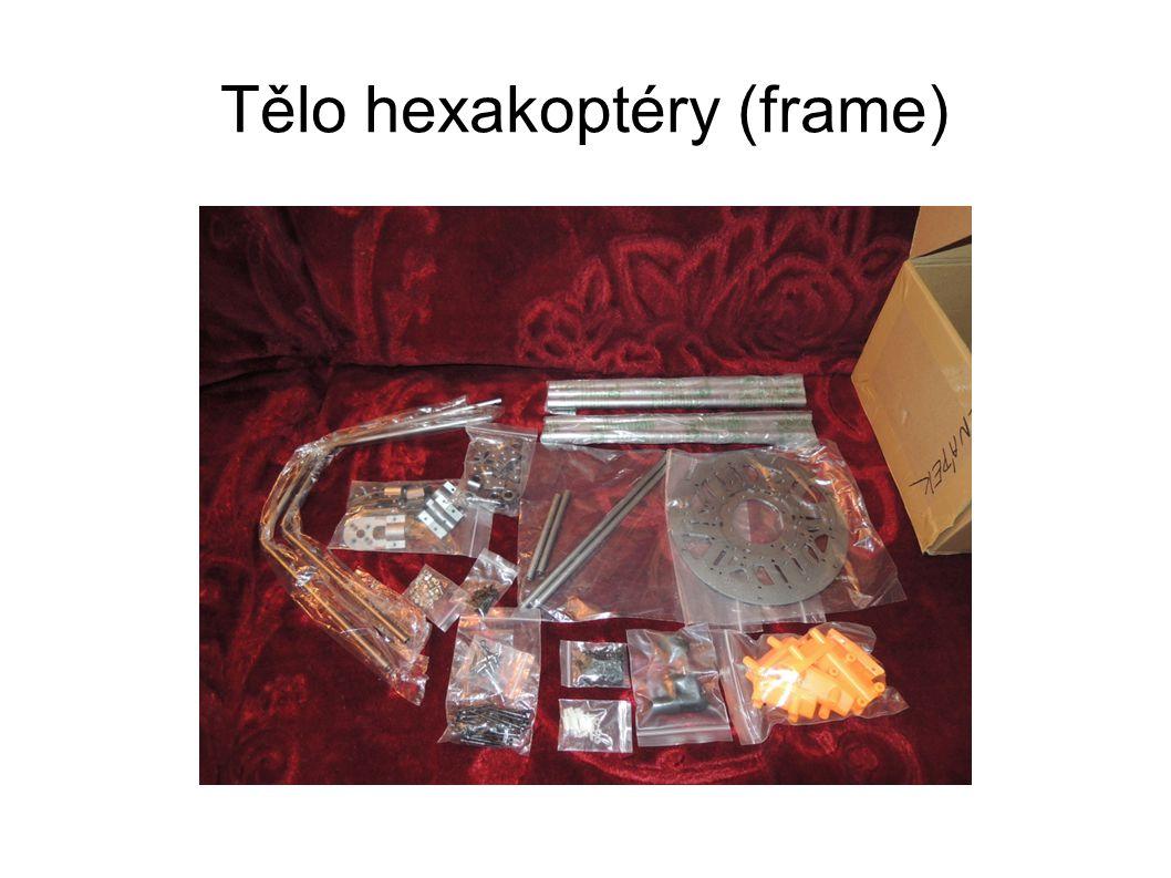 Tělo hexakoptéry (frame)