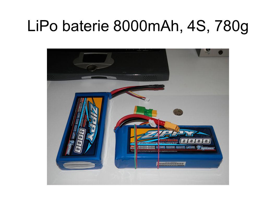 LiPo baterie 8000mAh, 4S, 780g
