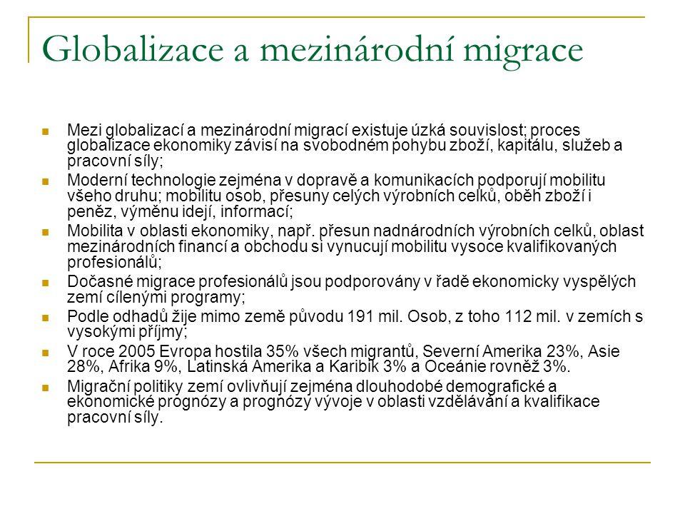 Globalizace a mezinárodní migrace