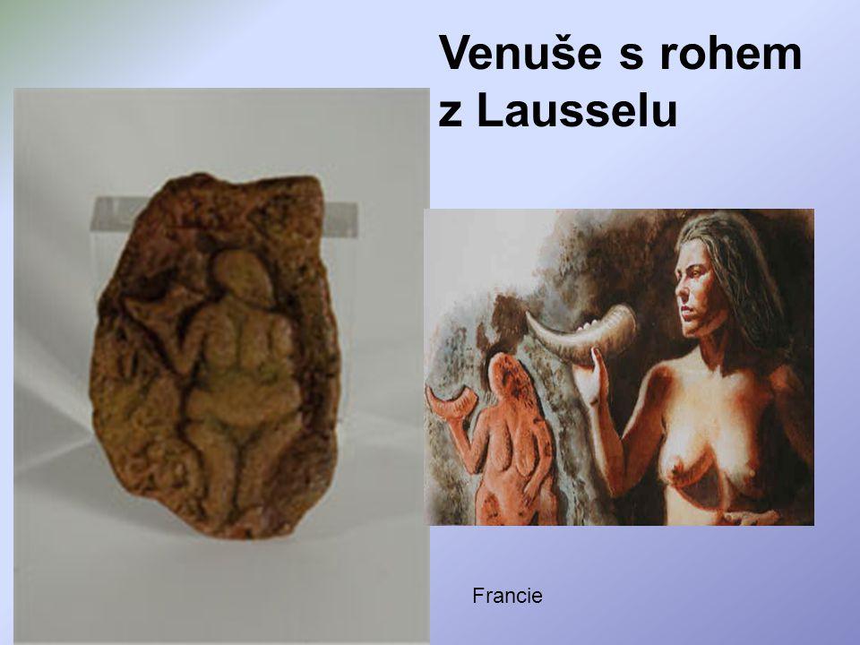 Venuše s rohem z Lausselu