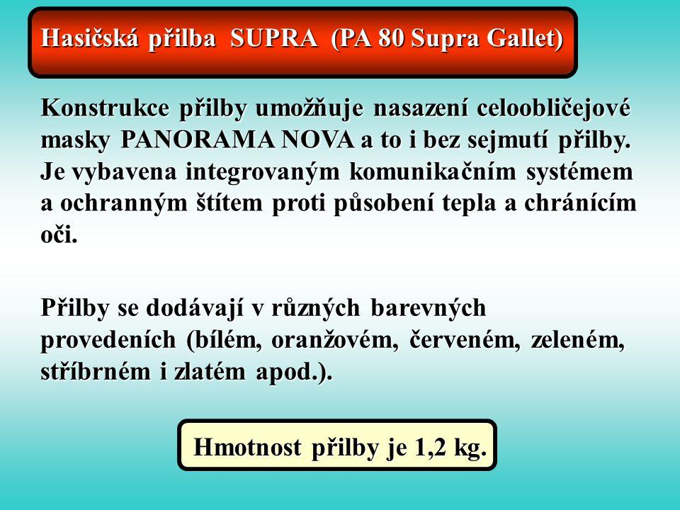 Hasičská přilba SUPRA (PA 80 Supra Gallet)