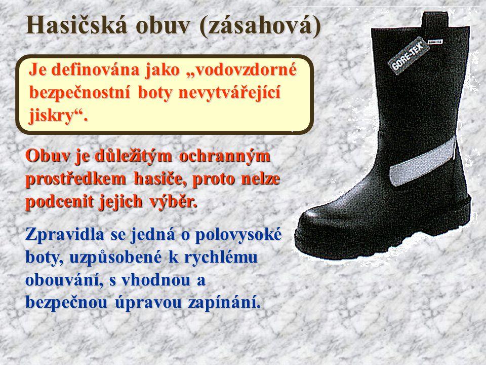 Hasičská obuv (zásahová)