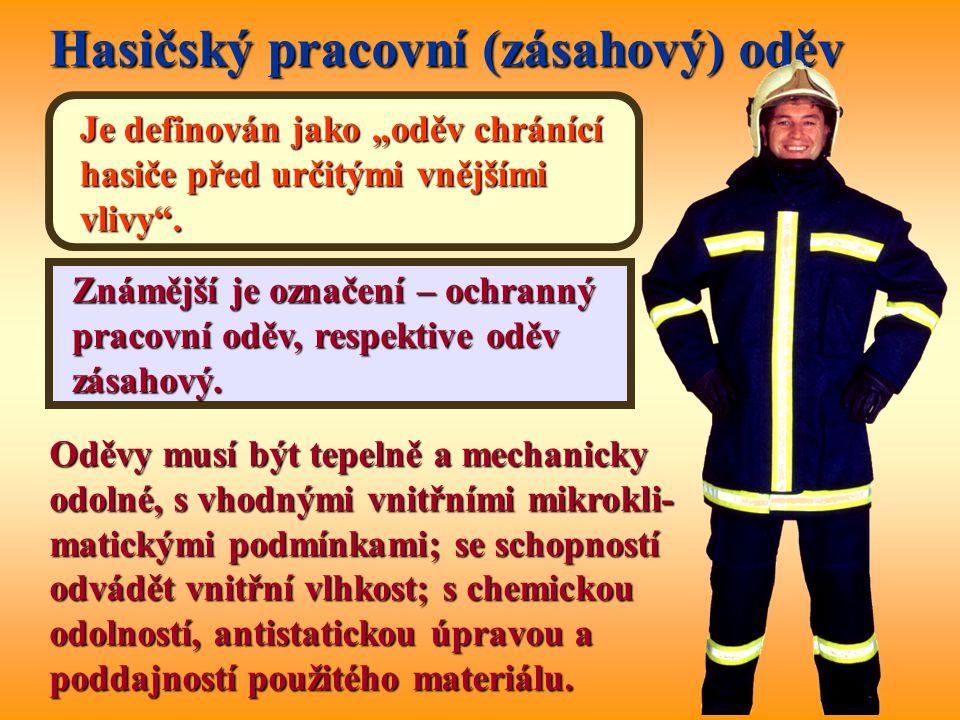 Hasičský pracovní (zásahový) oděv