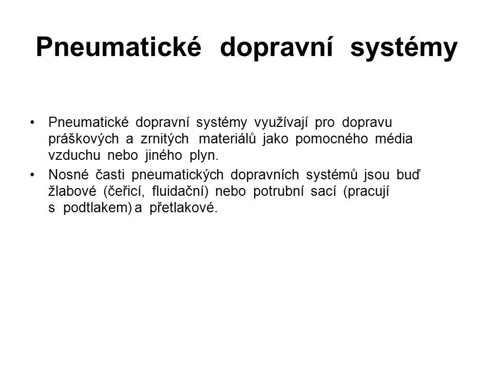 Pneumatické dopravní systémy