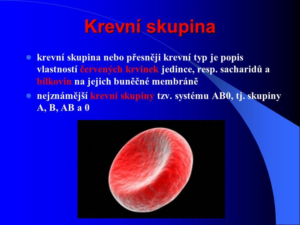 Krevní skupina
