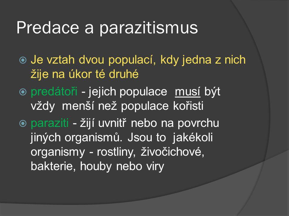 Predace a parazitismus