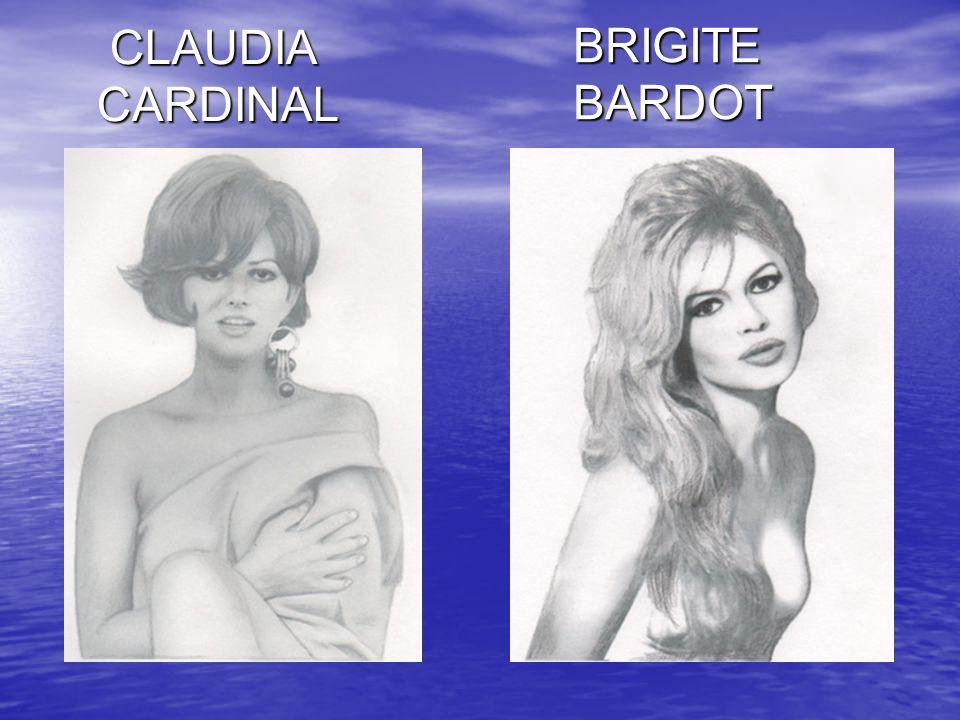 BRIGITE BARDOT CLAUDIA CARDINAL