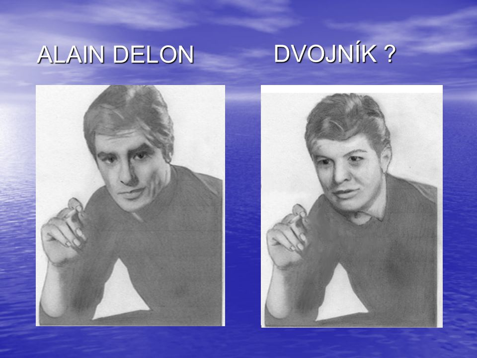 ALAIN DELON DVOJNÍK
