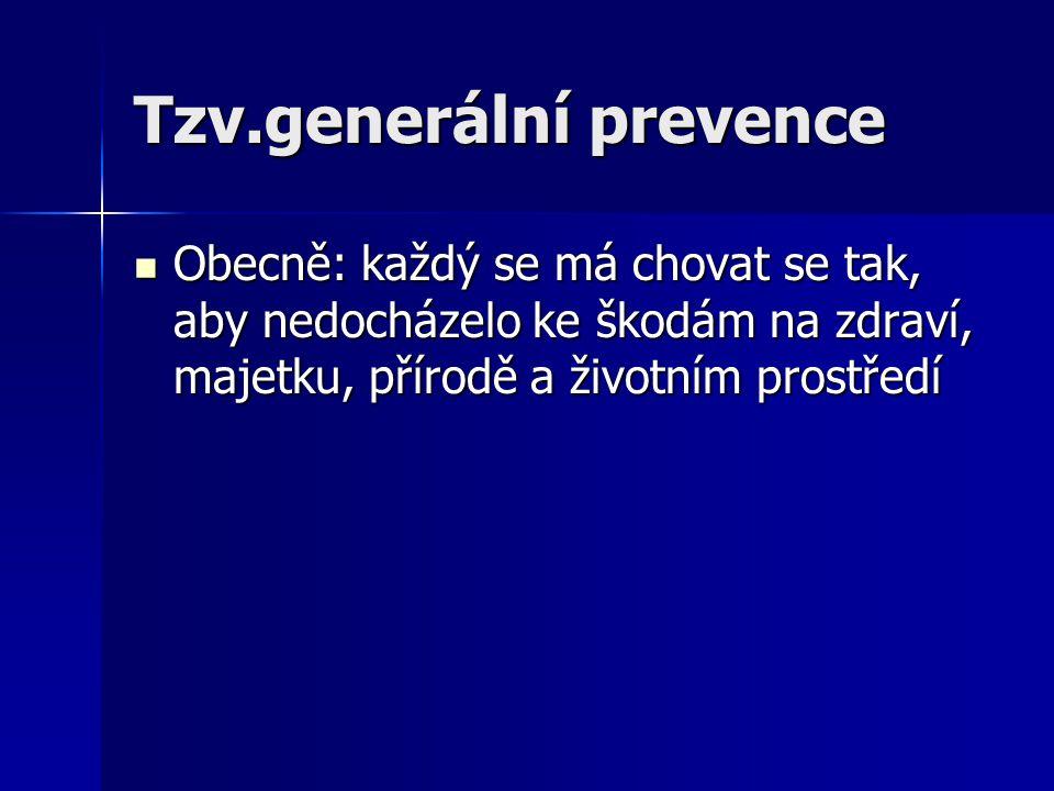 Tzv.generální prevence