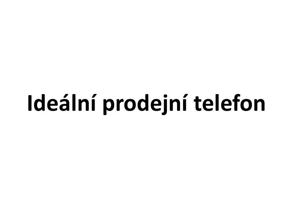 Ideální prodejní telefon