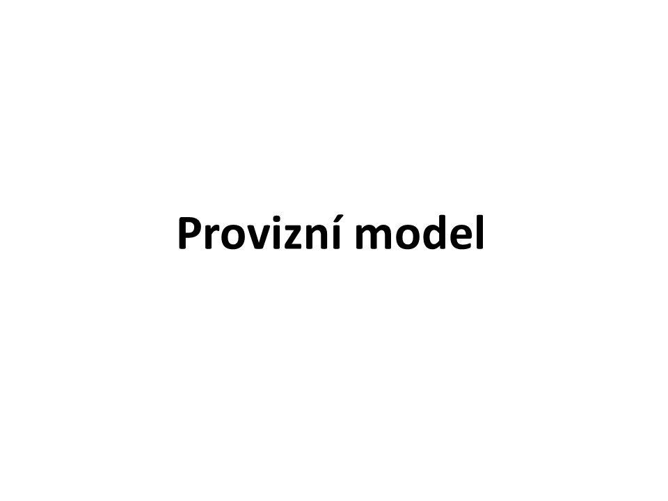Provizní model
