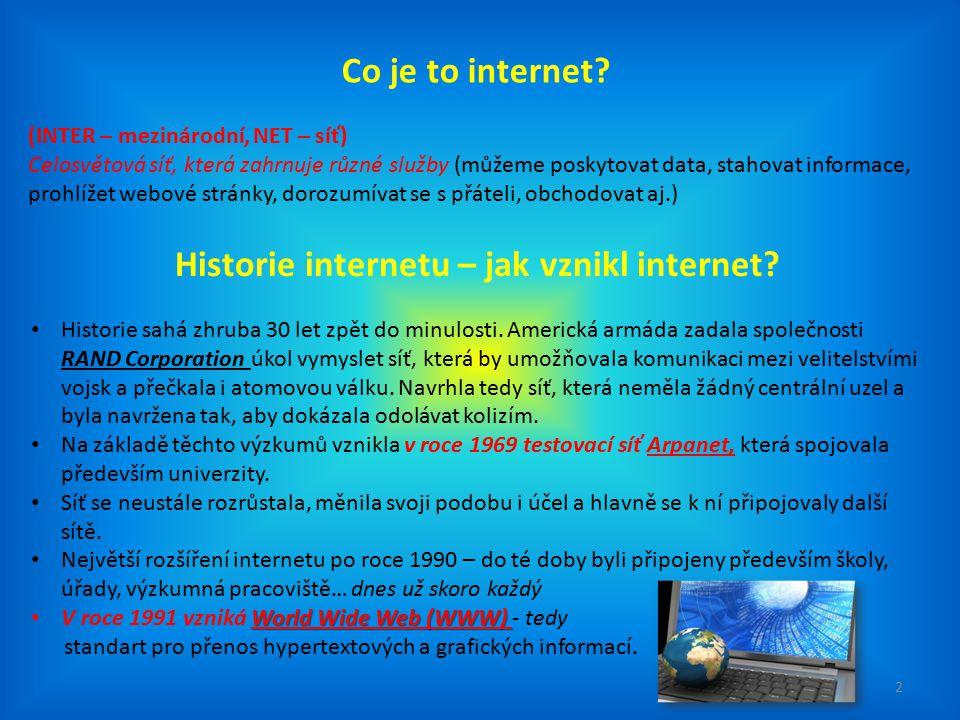 Historie internetu – jak vznikl internet