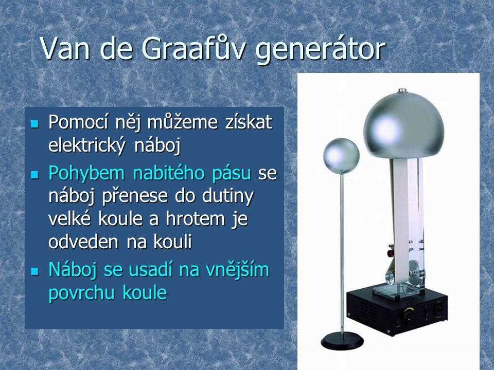 Van de Graafův generátor