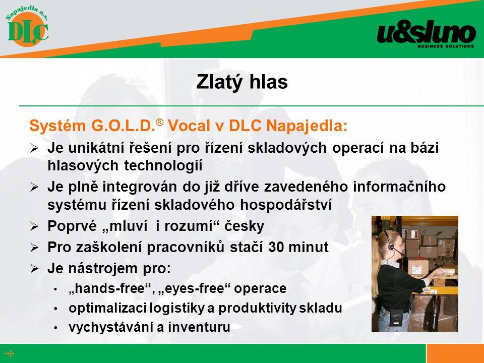 Zlatý hlas Systém G.O.L.D.® Vocal v DLC Napajedla: