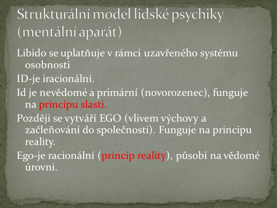 Strukturální model lidské psychiky (mentální aparát)
