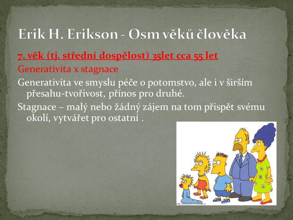 Erik H. Erikson - Osm věků člověka