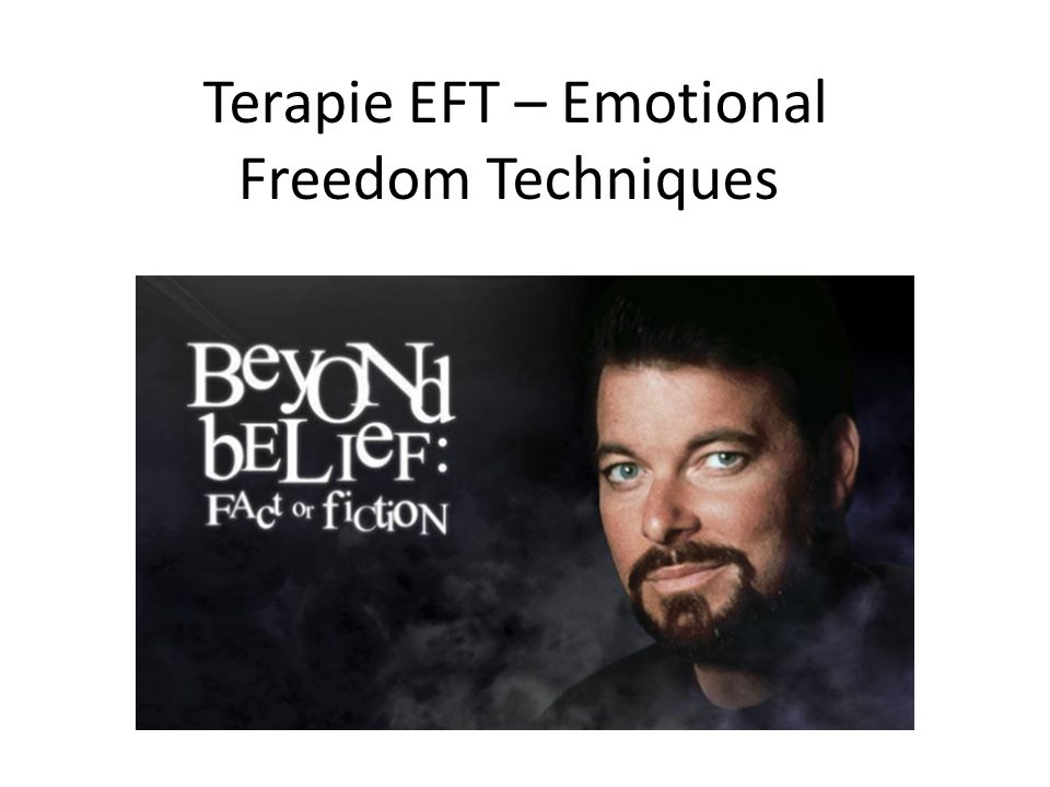 Terapie EFT – Emotional Freedom Techniques