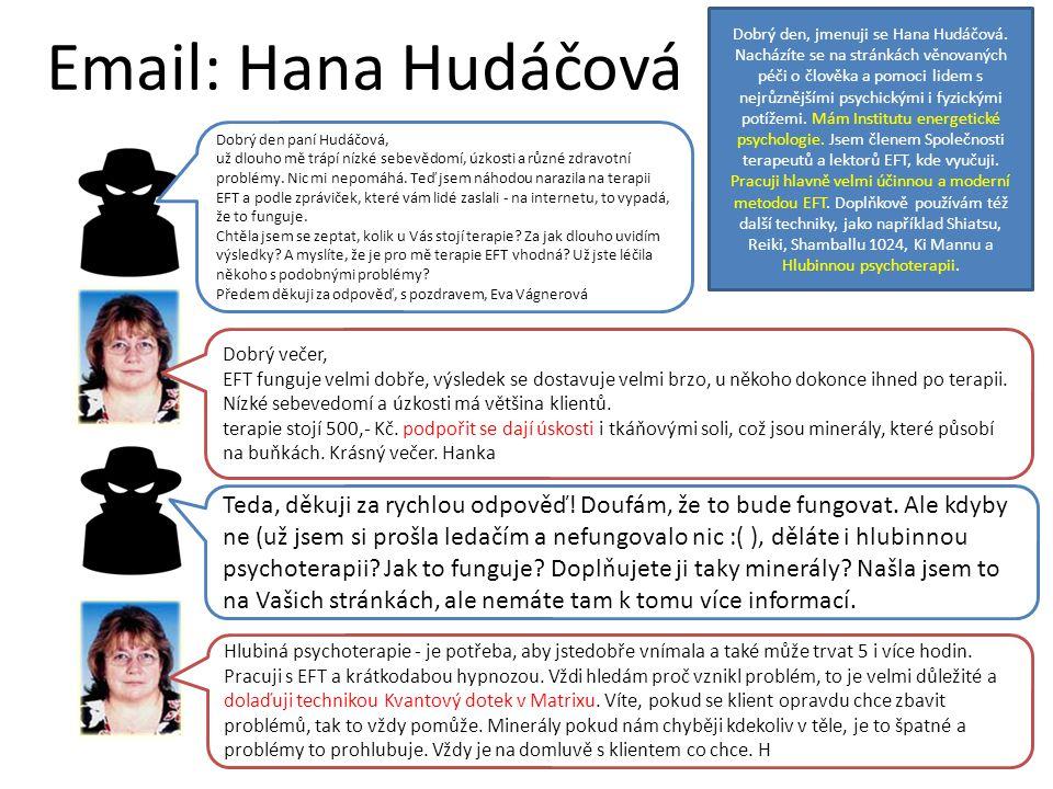 Email: Hana Hudáčová