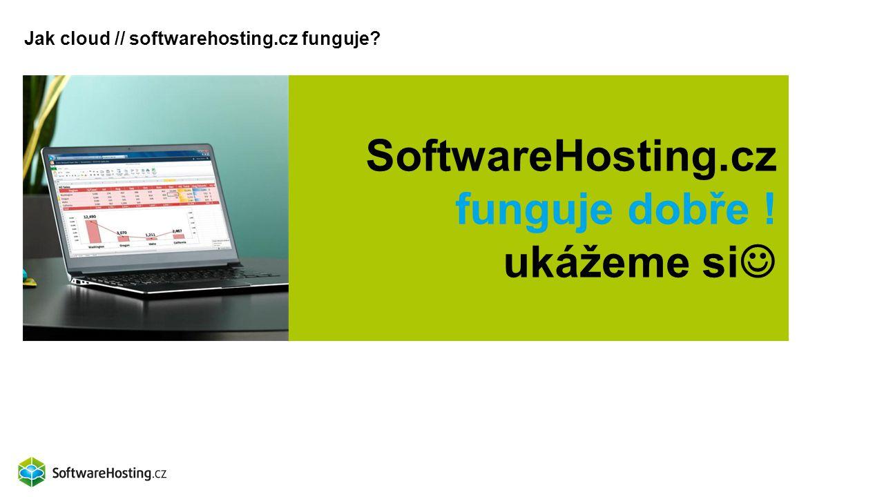 SoftwareHosting.cz funguje dobře ! ukážeme si