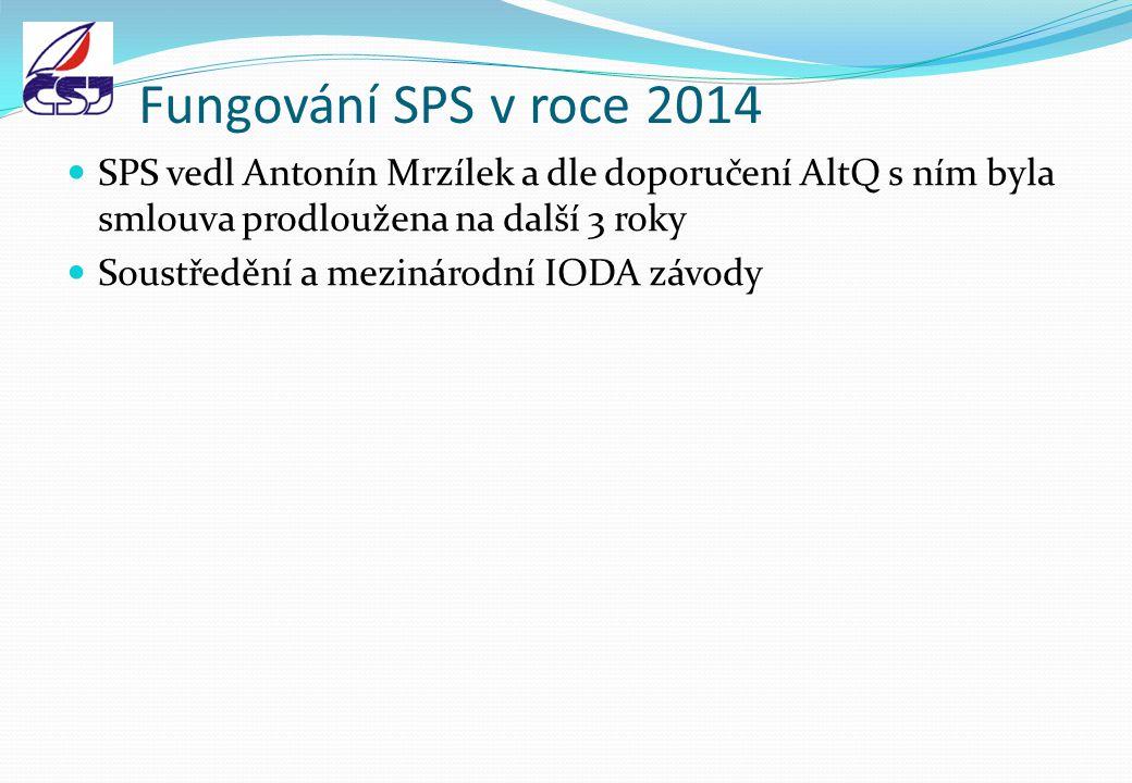Fungování SPS v roce 2014 SPS vedl Antonín Mrzílek a dle doporučení AltQ s ním byla smlouva prodloužena na další 3 roky.