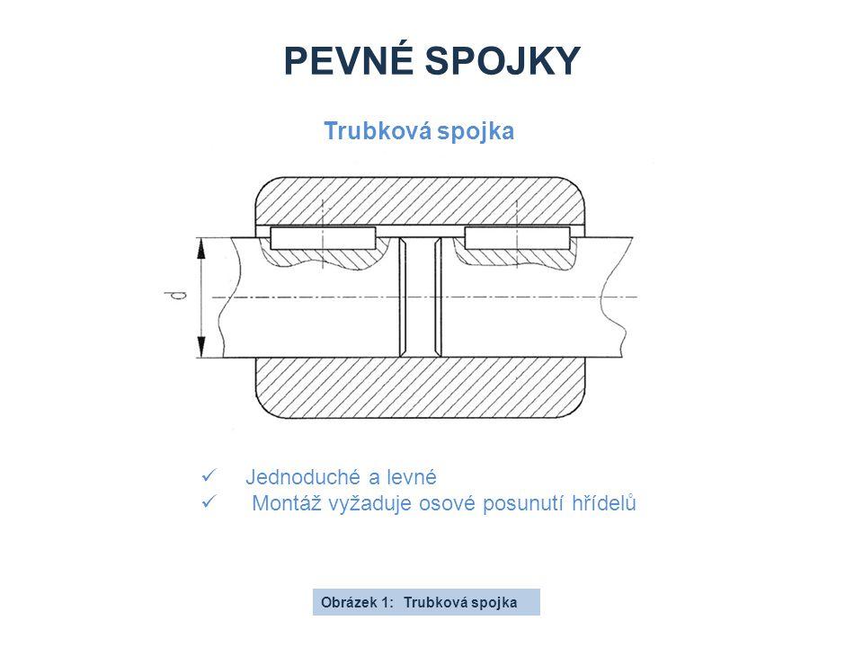 Pevné spojky Trubková spojka Jednoduché a levné