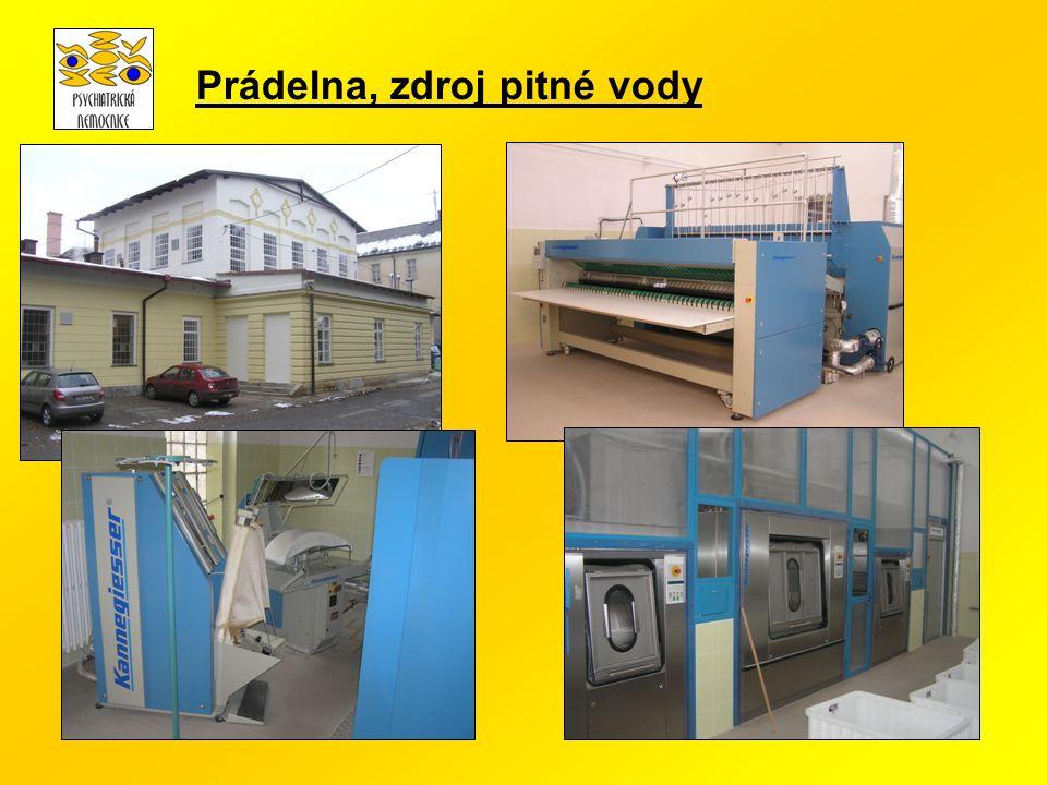 Prádelna, zdroj pitné vody
