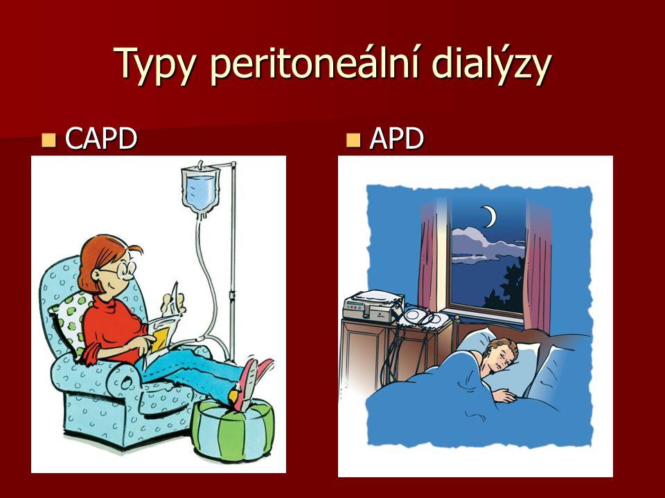 Typy peritoneální dialýzy