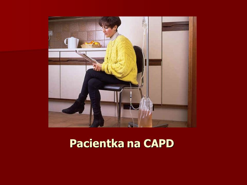 Pacientka na CAPD