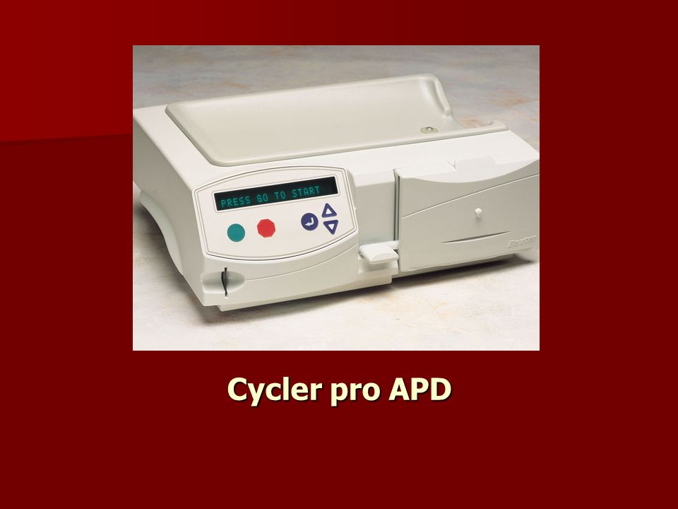 Cycler pro APD