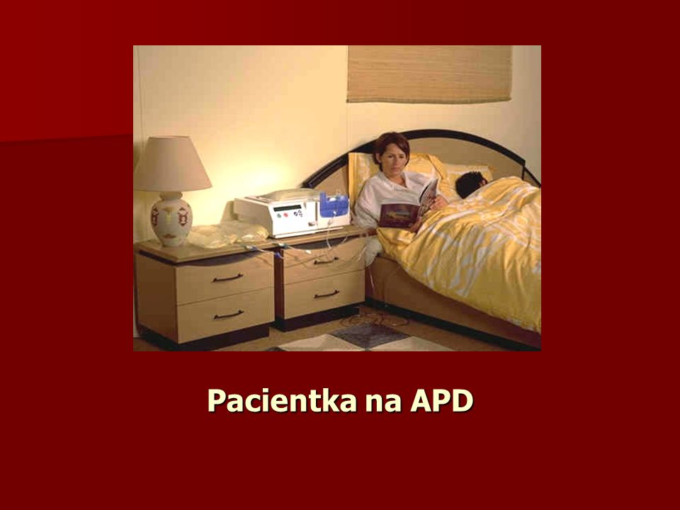 Pacientka na APD