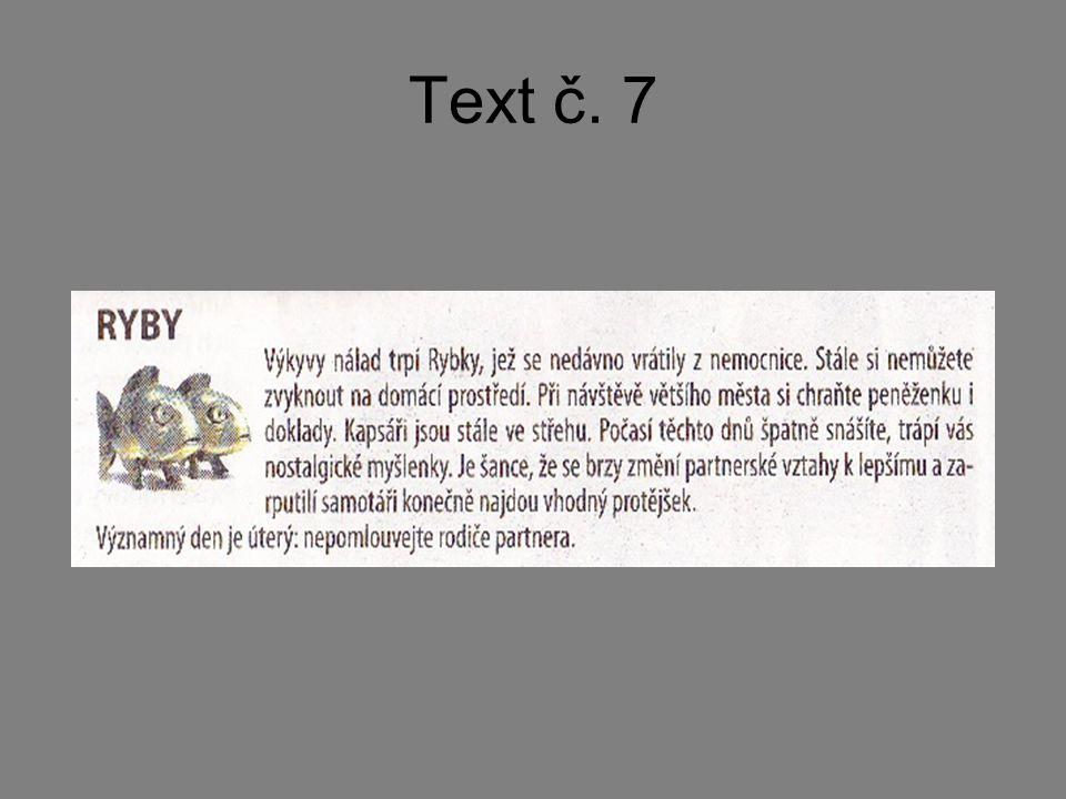 Text č. 7